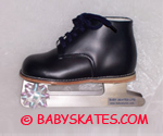Close-up picture of the baby skate you can buy here for your toddler or child to go ice skating!