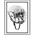 "NEW HOCKEY HELMET: ""SIZE EXTRA-SMALL"" - $97.99"