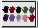 TODDLER STRETCH GLOVES COLORS AND STRIPES - $5.99